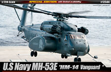 Academy Helicopter 1/72 Scale Plastic Model Kit U.S Navy MH-53E Vanguard #12544