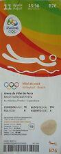 TICKET 11.8.2016 Olympia Rio Beachvolleyball # B76