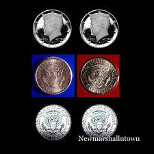 2019 P+D+S+S Kennedy Mint Proof Set ~ Silver &Clad Proof ~ PD Mint Wrap/Rolls