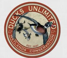 Ducks Unlimited Hunting Tin Metal Sign Wall Bar Garage Decor Classic Vintage