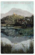 Lugano Posted Single Printed Collectable Swiss Postcards