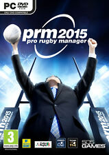 Pro Rugby Manager 2015 (PC DVD) NEW & Sealed - Despatched from UK