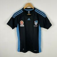 Sydney FC A-League Boys Football Soccer Jersey Size 14 Short Sleeve Adidas