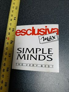 """SIMPLE MINDS - ESCLUSIVA MAX THE VERY BEST RARE 3"""" CD 3 TRACKS"""