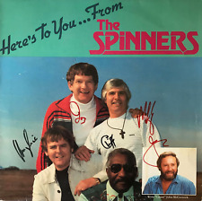 THE SPINNERS - HERE'S TO YOU... FROM THE SPINNERS (LP) (SIGNED) (G+/G+)