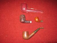 Vintage Pipe Lot with Case