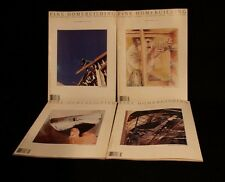 LOT OF 4 FINE HOMEBUILDING NO 7-10 MAGAZINE HAND CRAFTED WOODWORKING TOOLS