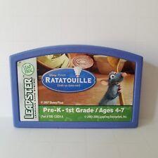 Leap Frog Leapster Disney Pixar Ratatouille Game Cartridge