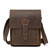 TOP Real Leather Men's Shoulder Bag Crossbody Satchel Messenger