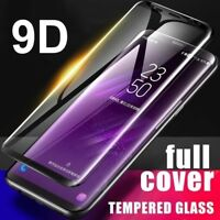 9D Curved Tempered Glass Screen Protector For Samsung Galaxy S9 S8 + Note 8 9 FR