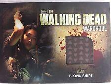 Cryptozoic Walking Dead Season 2 Costume M6 Glenn Wardrobe Trading Card