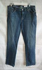 Women's LIZ CLAIBORNE Indigo City Fit Straight Leg Jeans - UK16 US12 NWT
