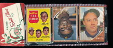 1962 Topps 12-Card Christmas Rack Pack w/ 3 Cards Showing!!