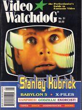 Video Watchdog No.51 Stanley Kubrick Babylon 5 021318DBE