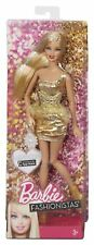 Barbie Fashionista Doll Gold - Christmas - New