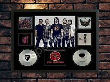 More details for foo fighters  signed limited edition memorabilia  a4 autographed print