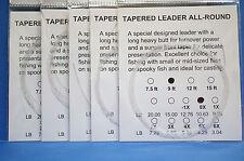 Vorfach Monofil 9ft 2,70 Meter 5er Pack Versand frei Tip 0,28mm Superdeal