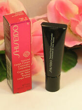 New Shiseido Natural Finish Cream Concealer Honey Miel #6 .44 oz / 10 ml Boxed