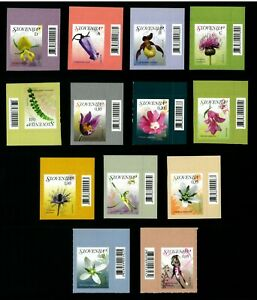 SLOVENIA  Flowers - Plants - Nature   Good set stamps   MNH**
