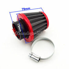Red 38mm Air Filter Clearner For Honda TRX250 ATV Quad ATC185 ATC 185S 3 Wheeler