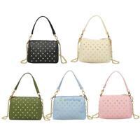 Women PU Leather Handbag Office Tote Messenger Shoulder Bag Satchel Cross Body