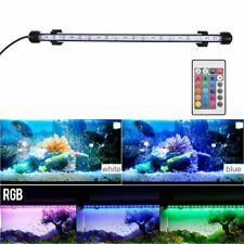 Aquarium Fish Tank Rgb Led Light Submersible Waterproof Bar Strip Lamp Lighting