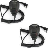 2X Speaker Hand microphone Baofeng UV-5R BF-888S GT-3TP UV-5RA Walkie Talkie MIC