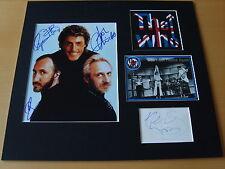 The Who Genuine Autographs - UACC / AFTAL.