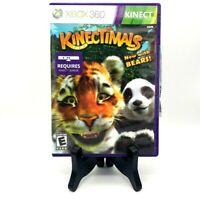 Kinectimals Microsoft Xbox 360 Complete CIB Game Case Manual Condition Mint