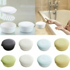 Portable Soap Box With Lid Seal Case Drain Layer Travel Washing Leak Proof Dish