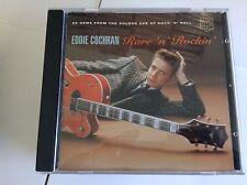 Eddie Cochran : Rare n Rockin: 28 Gems from the Golden Age of Rock n Roll CD
