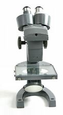 Bausch & Lomb Stereo Microscope, Three Sliding Objectives, Mirror