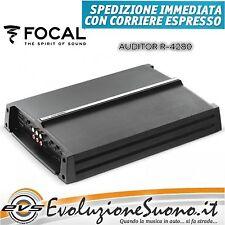 Focal R-4280 Amplificatore per Auto 4/3/2 Canali NUOVO Garanzia UFFICIALE ITALIA