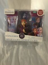 Disney Frozen 2 Soap & Scrub Magical Berry Scented 4 Piece Set, 3Oz 3+ Or Older