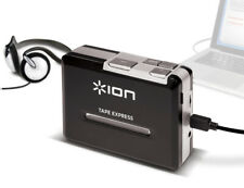 ION-TAPE-EXPRESS 8044 Portable Tape to MP3 Player w/ Headphone