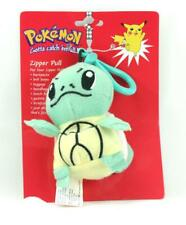 POKEMON PLUSH ZIPPER PULL SQUIRTLE NEW