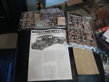 M151A2 Ford Mutt with M416 Cargo Trailer by Tamiya in 1/35 scale - no box