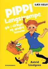 Buch Astrid Lindgren DÄNISCH, Pippi Langstrumpf Langstrompe går i cirkus