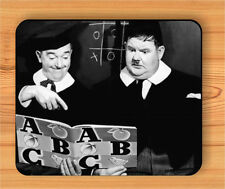 LAUREL & HARDY MOVIE ARTIST STAR MOUSE PAD -b3rz