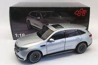 NZG 1/18 Scale 983/55 - 2019 Mercedes Benz EQC400 4matic (N293) - SIlver