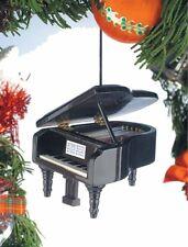 Miniature Black Grand Piano Ornament (OPYBK*) with Gift Box 3.5 Inches