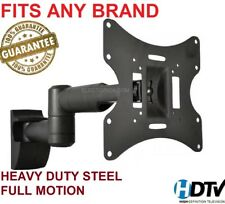 Full Motion TV Wall Mount Swivel Bracket 23 27 32 40 42 Inch LED LCD Flat Screen