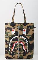 New Bape A Bathing Ape Shark Soft Messenger Shoulder Carrying Handbag Handle Bag