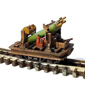 009 narrow gauge gas bottle wagon NE Miniatures
