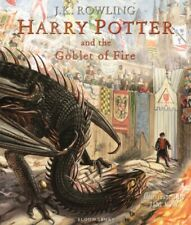 Harry Potter and The Goblet of Fire Illustrated Edition Re-8 Oct 2019