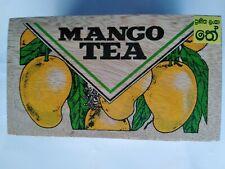 Ceylon Mango Flavored Loose Black Tea Sri Lanka Include In Wooden Tea Box 100g