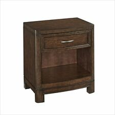 Home Styles Crescent Hill Night Stand 1 Drawer Maple Mocha Cherry Cherry