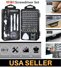 117 in 1 Screwdriver Repair Tool Kit for Electronic Smartphone Computer Watch