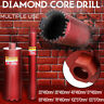 8 Sizes Diamond Core Drill Bit Multiple-Use Reinforced Concrete Stone Rock Grani