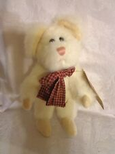 """Boyd's Bears Brie Investment Collectibles 8"""" Plush Soft Toy Stuffed Animal"""